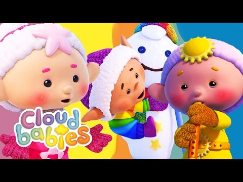 Cloudbabies Cartoons for Kids | Snow Fun Winter Videos