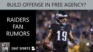 Raiders Fan Rumors: Build Offense In Free Agency, Defense In 2019 Draft, Staying In Oakland