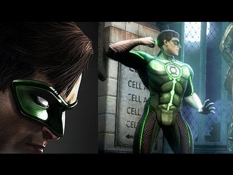 "Injustice: Gods Among Us | ""Green Lantern vs. Solomon Grundy"" Gameplay Trailer (2013) [EN] 