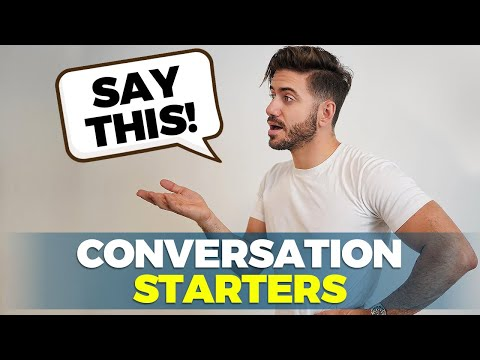 5 Easy Ways To Start A Conversation With ANYONE   Alex Costa