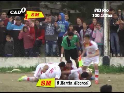 Gol de Alcorcel - Diamantino 0-1 San Martín (Relata Ramiro Perasso-Fm Rio Diamante)
