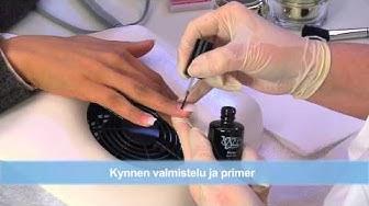 Akryyli Kynnet Opetus DVD - Rakennekynnet Akryylitekniikan | nded.fi