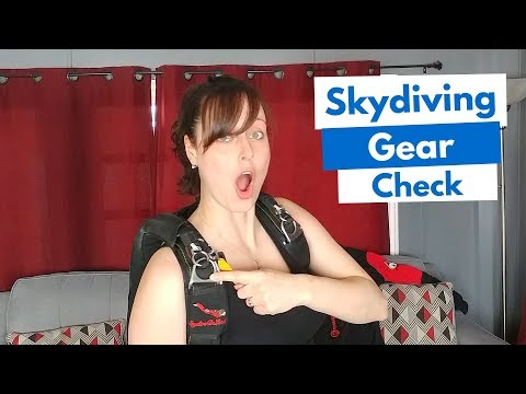 Skydiving Gear Check - How To Never Fail It! (#1 Tip)