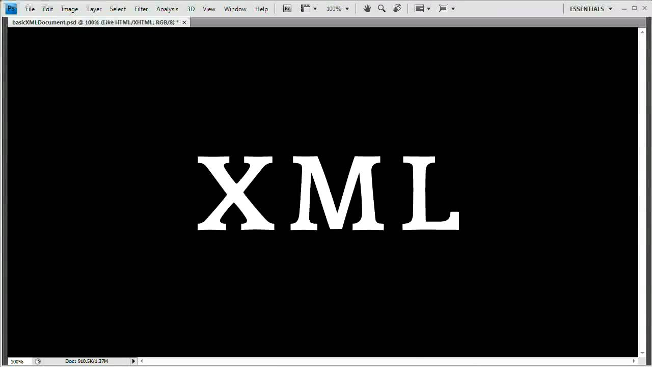 How to write an xml document