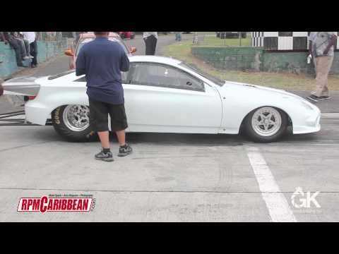 Iceman second run in the Toyota Celica Tubeframe chassis test run