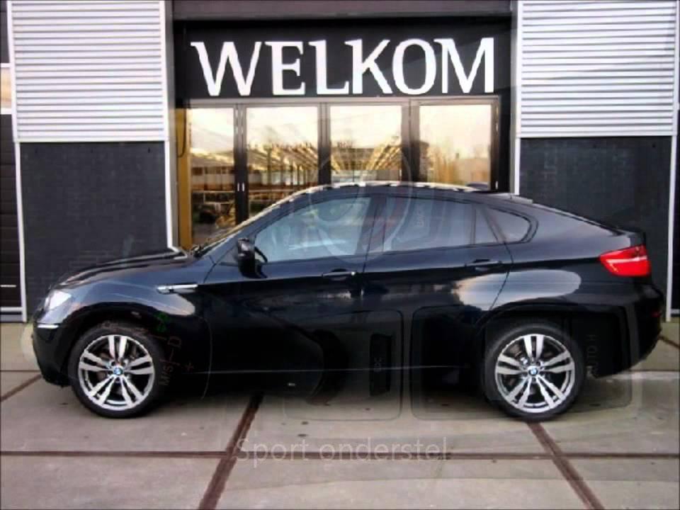 BMW X6 M 4.4 V8 555pk, 2009 - YouTube