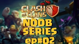 Clash of Clans Greece - Clash 4 Noobs - Ep02 low lever wars just start