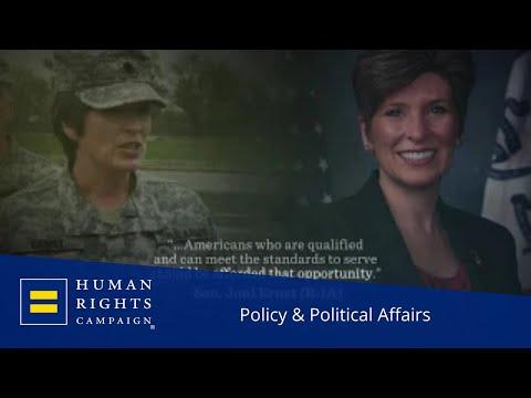 New TV Ad Demands Trump Drop His Ban On Transgender Troops