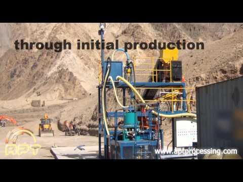 Modular Mineral Processing Plants: APT RG Scrubber