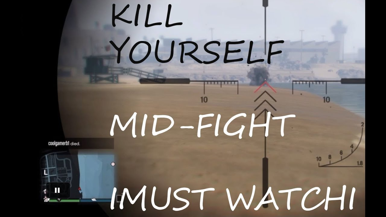 how to kill yourself in gta5