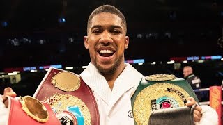 How Anthony Joshua Become Nunber 1 In the World