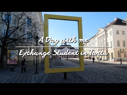 A Day with Me: Exchange Student in Tartu, Estonia | 跟我走一天:愛沙尼亞塔爾圖交換生