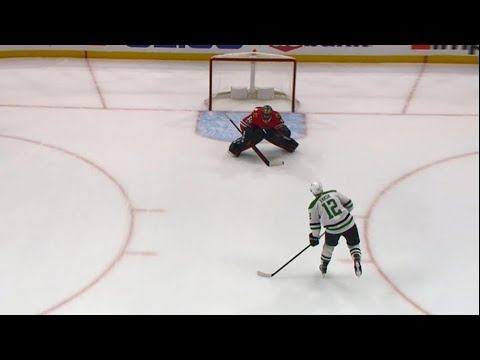 Stars' Faksa roofs his first career penalty shot on Crawford