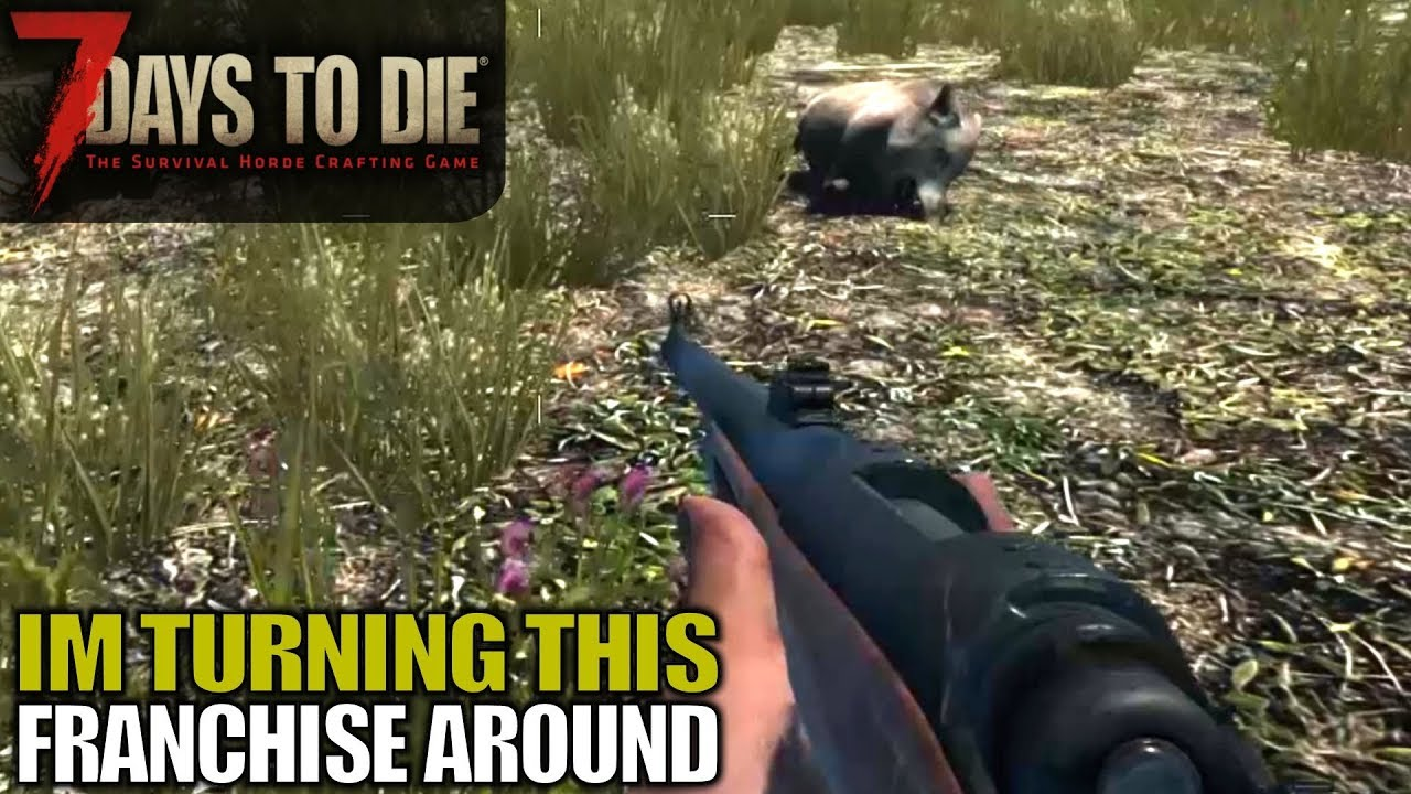 Animal Harvesting Hunting Rifle More 7 Days To Die Let S Play Gameplay Alpha 17 S17e04 Youtube