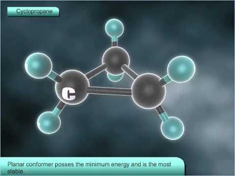 Conformation in Cycloalkanes - Class 11