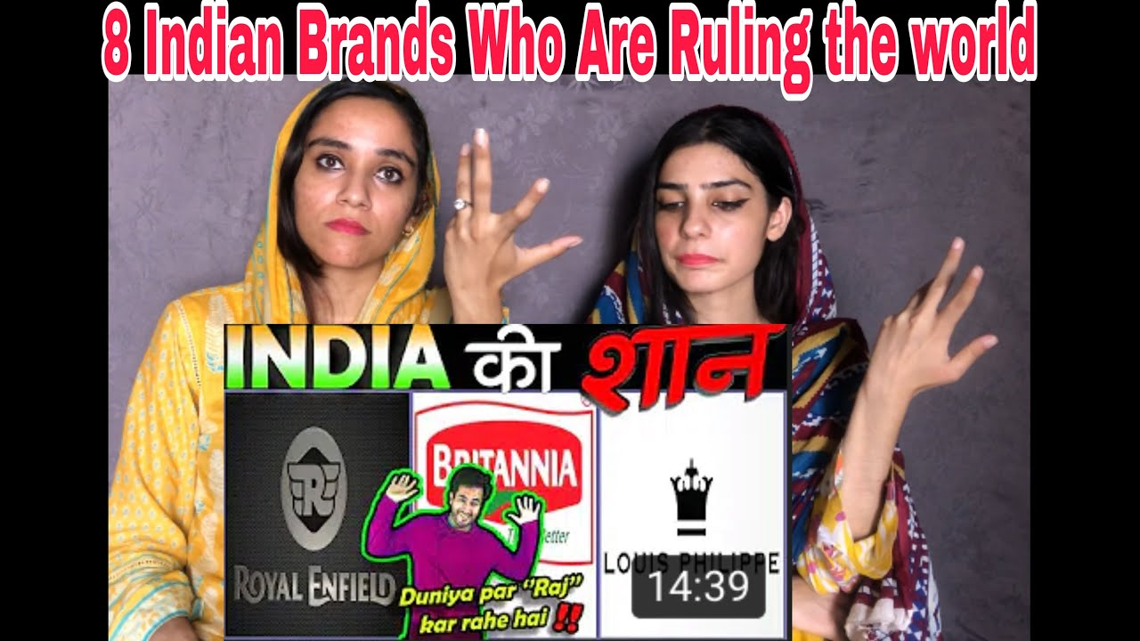 🇮🇳 8 INDIAN BRANDS THAT ARE RULING THE WORLD 🇮🇳 | Pakistani Reaction | Magisco Seher Nayab