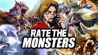 RATE THE MONSTERS! - Monster Hunter World Iceborne