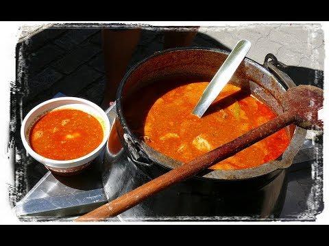 Balatoni Halászlé Hobár Módra-Fish Soup Of Balaton Lake-Plattensee Fischsuppe