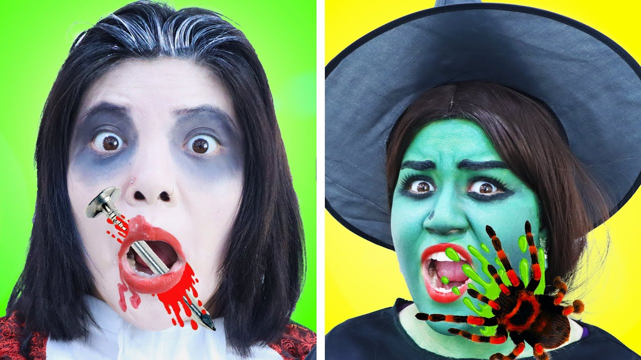 6 CRAZY HALLOWEEN PRANKS | FUN DIY TRICK OR TREAT HALLOWEEN PRANK WARS BY CRAFTY HACKS