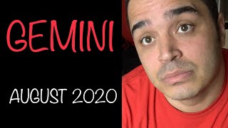Gemini! A Second Chance Is Coming. Will You Allow Them In? August 202 YouTube Videos
