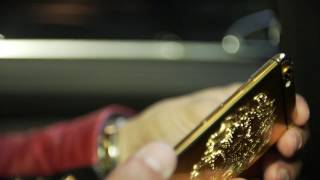 Be special with a customized 24 Carat Gold iPhone crafted by Exclusive-ID