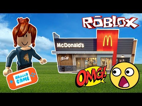Roblox Español en McDonalds vendiendo Hamburguesas Cap 2 Abrelo Game Roblox