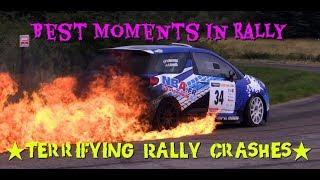 TERRIFYING RALLY CRASHES! | Rally Fails  | Rally Crashes | 🔥