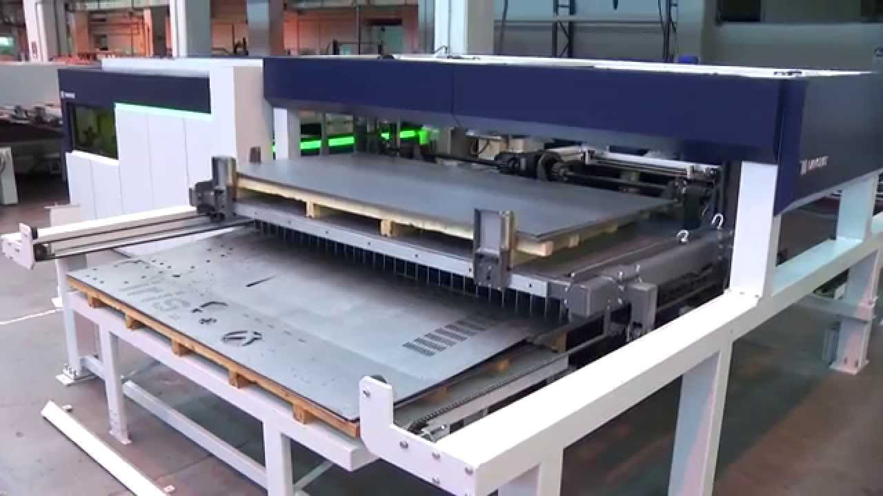 Laser Cutting Machine With Automatic Loading And Unloading