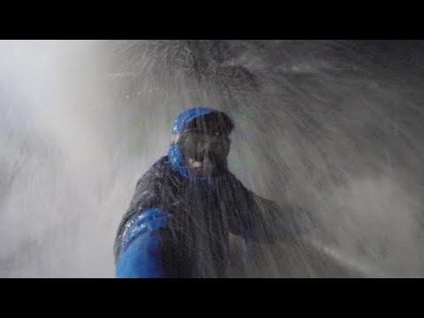 MASSIVE WAVES CRASH OVER PIER - PORT STANLEY, ON - 10/24/17