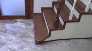 Лестница, обзор через год после монтажа.
