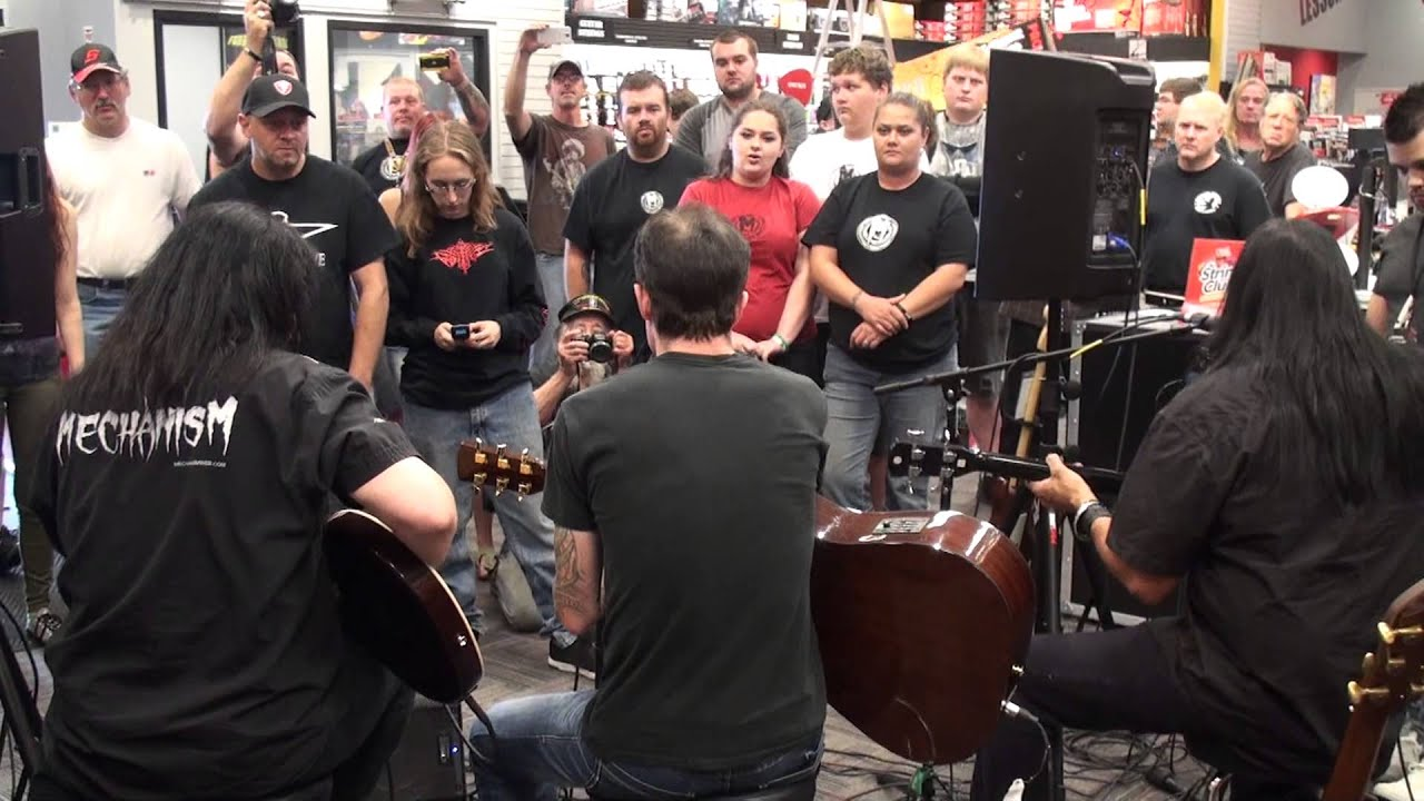 mechanism goes acoustic at guitar center tacoma youtube. Black Bedroom Furniture Sets. Home Design Ideas