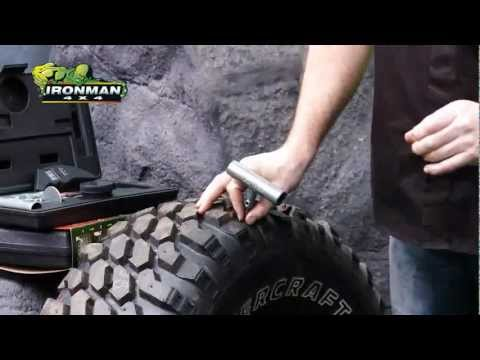 Tyre Repair Kit  Fix Punctures in minutes without removing tyre   IronMan 4×4