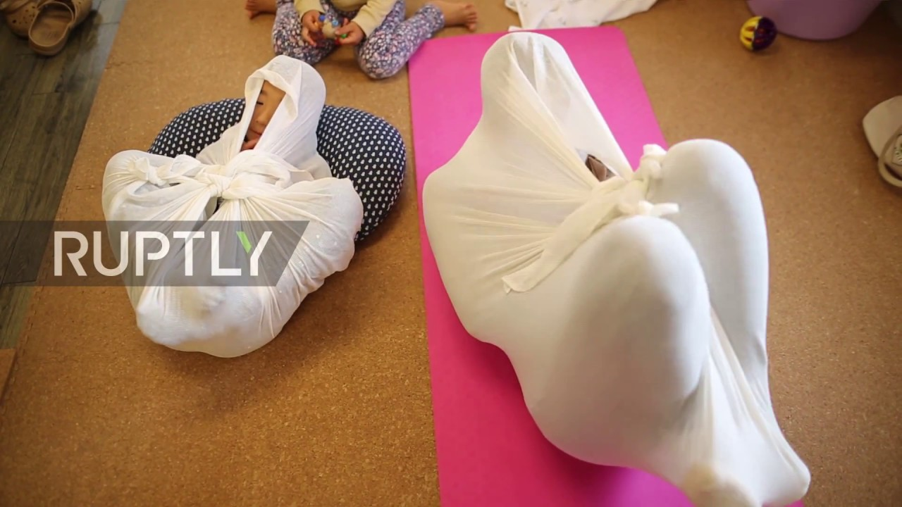 Japan Adult Wrapping Therapy Promises To Vanish Aches -9330