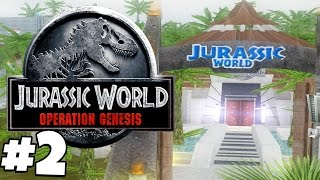 Jurassic Park: Operation Genesis | Gameplay Part 2 | REBRAND THE PARK