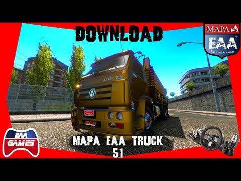 DOWNLOAD - MAPA EAA TRUCK 5 1 - ETS2 1 35 1 31S