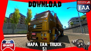 DOWNLOAD - MAPA EAA TRUCK 5.1 - ETS2 1.35.1.31S