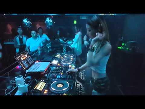 Sexy DJ Bunny S @ Velvet Dance Zouk Singapore 130216