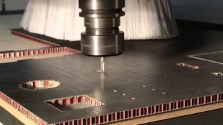 Fresas para mecanizado de panel sandwich, honeycomb y composites