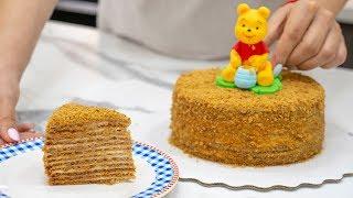 """🍯""""Рыжик""""- торт из детства👶- Я - ТОРТодел!"""