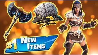 NOUVEAU quatre Viking Skin - Articles! FORTNITE Live Stream!