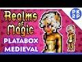 Realms of Magic: Um Terraria +Medieval e +RPG? Jogo Platabox