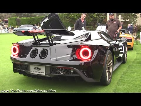 2017 Ford GT Exhaust Sound - Start up & Revs