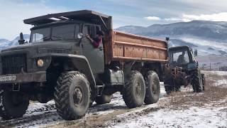 Трактор Беларусь против УРАЛ | 4x4 vs 6x6