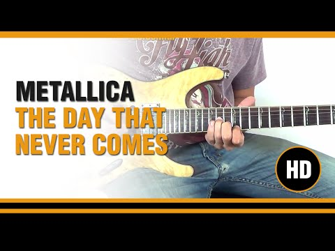How to play The Day That Never Comes from METALLICA  Electric Guitar GUITAR LESSON