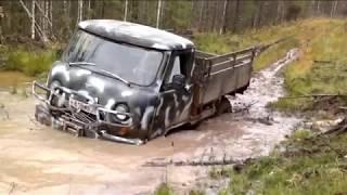 УАЗ 3303 и грязь.