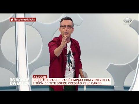 Neto para Tite: Você é perdedor na Seleção Brasileira!