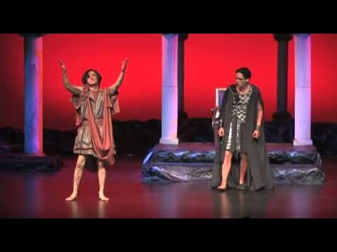 """""""Iphigenia in Tauris"""" by Euripides performed at HBU"""