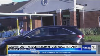 VIDEO: Baldwin County Schools reopen for the first time since Hurricane Sally