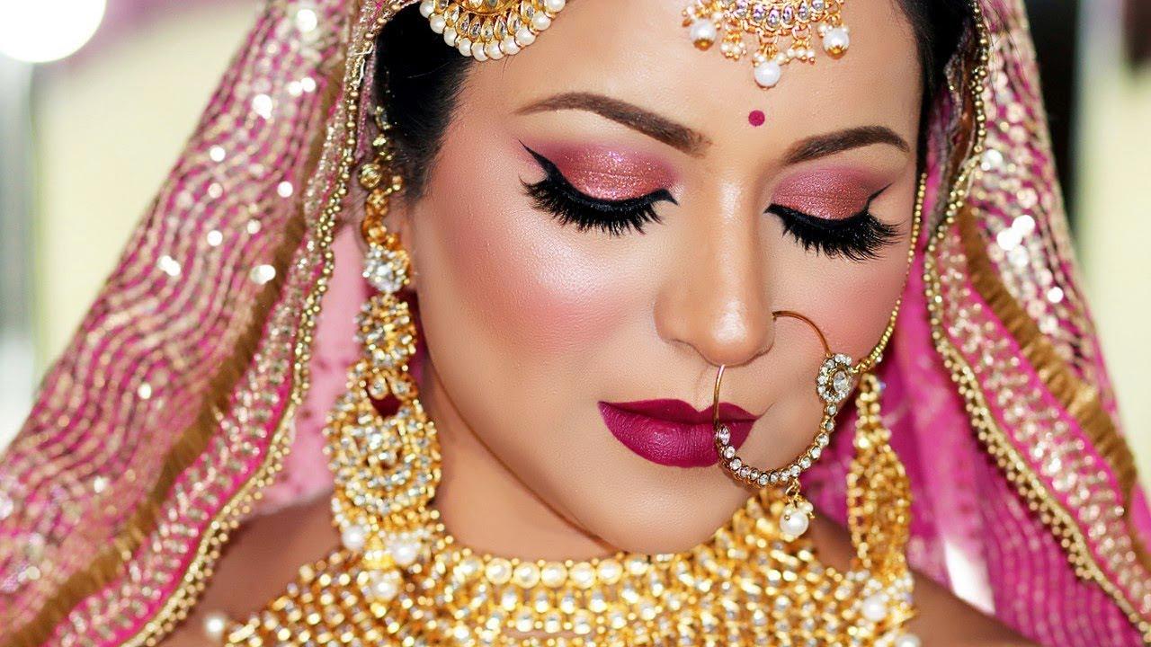 Download LONG LASTING INDIAN BRIDAL MAKEUP TUTORIAL (SWEAT PROOF/WATER PROOF)   Colourpop One Brand