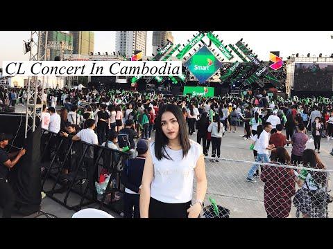 CL in Cambodia | Smart Mega Concert CL | VLOG